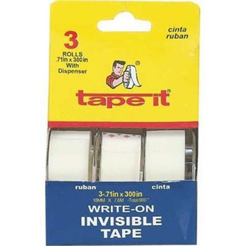 DDI Invisible Tape 3 Pack.75 i