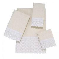 Avanti Linens Eyelet Scallop 4 Piece Towel Set