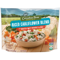 Cascadian Farm Organic Riced Cauliflower Blend Roasted Sweet Potatoes & Kale Mixed Vegetables