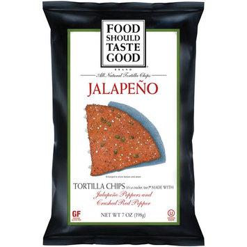 General Mills Food Should Taste Good Jalapeno Tortilla Chips, 7 oz