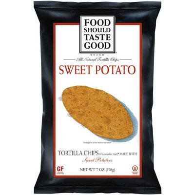 General Mills Food Should Taste Good Sweet Potato Tortilla Chips, 7 oz