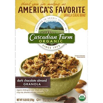 Cascadian Farm Organic Dark Chocolate Almond Granola, 13.25 oz
