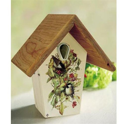 Droll Yankees Inc Droll Yankees Small Nest Box with Chickadee Art
