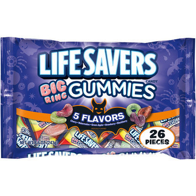 Life Savers Big Ring Gummies Candy, 26 count, 8.6 oz