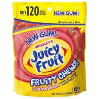 Juicy Fruit Fruity Chews Strawberry Sugarfree Gum, 120 pc