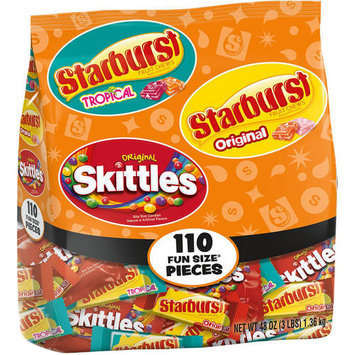 Starburst and Skittles Fun Size Candy Variety Bag