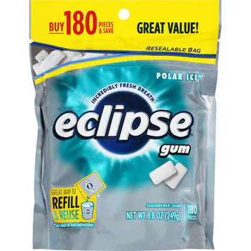 Eclipse Gum Polar Ice 180 Pieces - 2 Pack