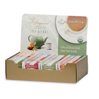 Davidson's Tea Davidson Organic Tea 1158 Single Serve Assorted Decaf Herbal Tea