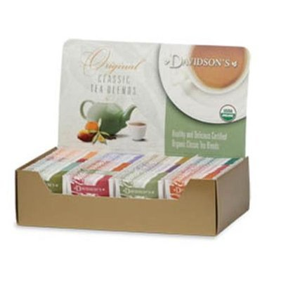 Davidson's Tea Davidson Organic Tea 1158 Single Serve Assorted Decaf Herbal Tea