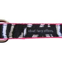 Chief Furry Officer 90210 Dog Leash Color: Red, Size: 1