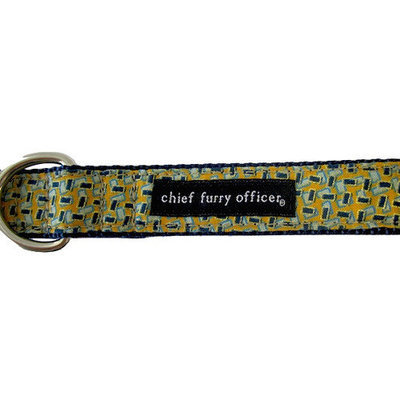 Chief Furry Officer Coldwater Canyon Dog Leash Size: 0.63