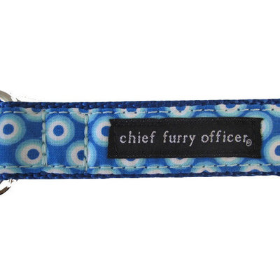 Chief Furry Officer Huntington Beach Dog Leash Size: 0.75
