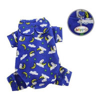 Klippo Pet, Inc Klippo Pet KBD062XL Brushed Cotton & Polyester Pajamas With Sleeping Sheep Print