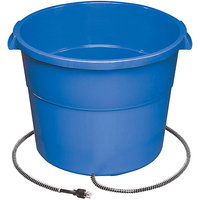 Allied Precision 16HB 16 Gallon Heated Bucket - Blue