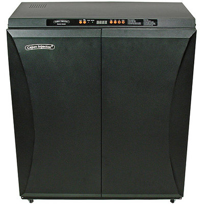 Awesome Cajun Injector Double Door XL Electric Smoker