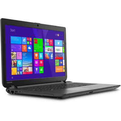 Toshiba Satellite C55d-b5244 15.6 Led [trubrite] Notebook - Amd A-series A6-6310 1.80 Ghz - Textured Resin In Jet Black - 6GB RAM - 750GB Hdd - Dvd-writer - Amd Radeon R4 Graphics - (pscn4u-00r002)