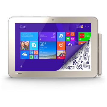 Toshiba Encore 2 WT10PE-A264 64GB Net-tablet PC - 10.1in. - Wireless LAN - Intel Atom Z3735F 1.33 GHz - Matte Satin Gold