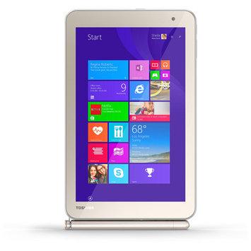 Toshiba Encore 2 Wt8pe-b264 Net-tablet Pc - 8 - In-plane Switching [ips] Technology, Trubrite - Wireless Lan - Intel Atom Z3735f 1.33 Ghz - Matte Satin Gold - 2GB RAM - 64GB Ssd - (pdw0cu-001002)
