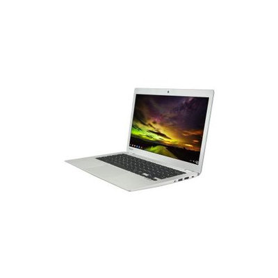 Toshiba Chromebook 2 Cb30-b3123 13.3 Led [trubrite In-plane Switching [ips] Technology] Notebook - Intel Celeron N2840 2.16 Ghz - Textured Resin In Silver - 4GB RAM - 16GB Ssd - (plm02u-00g008)