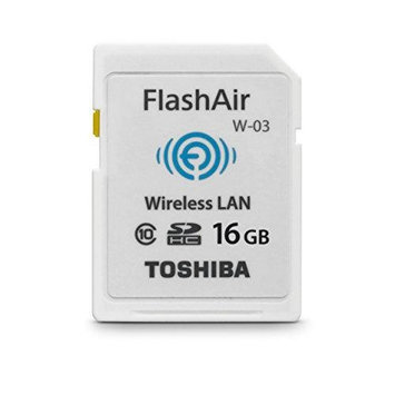 Toshiba 16GB FlashAir III Wireless SD Card
