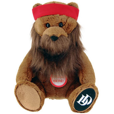 Commonwealth Duck Dynasty Willie Bear Plush with Sound