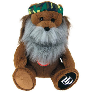 Commonwealth Duck Dynasty Phil Bear Plush with Sound