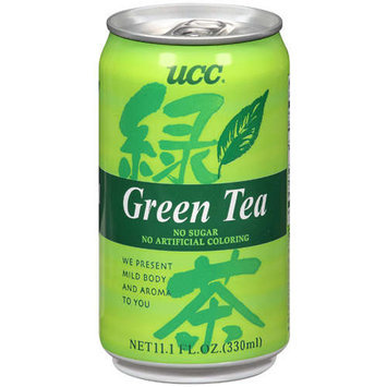 Ucc Tea Green Can 11.1Fo Pack Of 24
