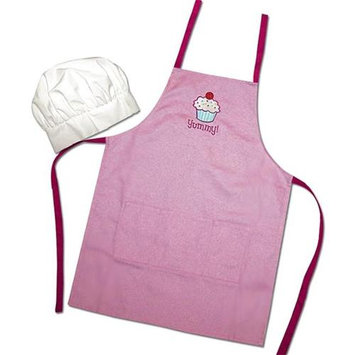 Sassafras Enterprises 22107 Cupcake Apron and Hat Set