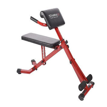 Stamina Products Stamina X Ab/Hyper Bench, Red