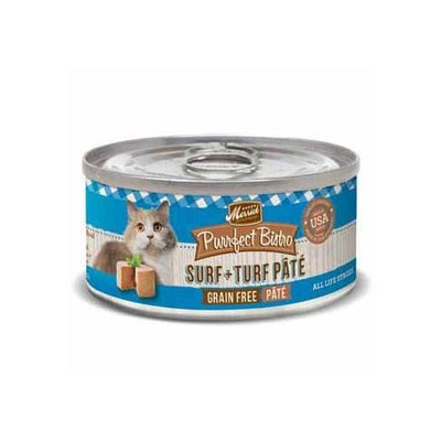 Merrick Surf & Turf Canned Cat Food 24/3-oz cans