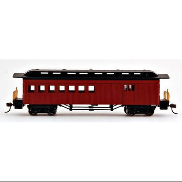 Bachmann HO Scale Passenger Combine Painted Unlettered Red 13502