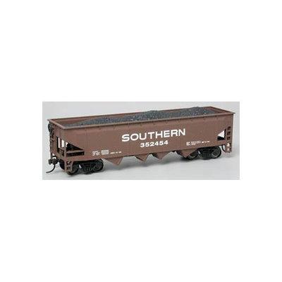Bachmann HO Scale Train 40' Quad Hopper Southern 17604