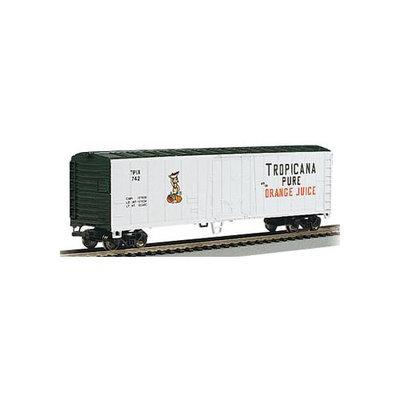 Bachmann HO Scale Train 50' Steel Reefer Tropicana 17947