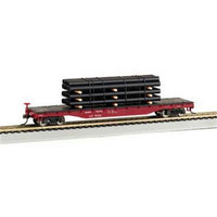 Bachmann Williams BAC18923 Ho Union Pacific Flat with Pipe Load