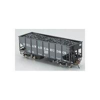 Bachmann HO Scale Train 2-Bay Hoppers Delaware & Hudson 19505