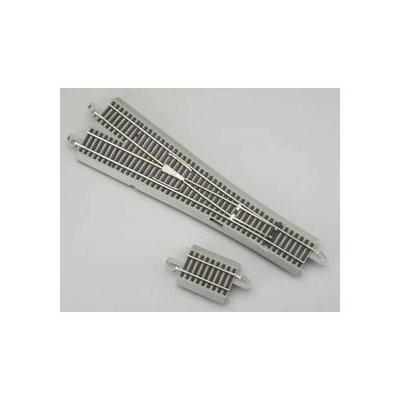 Bachmann HO Scale Train Nickel Silver/Gray Turnout Digital #5 WYE 44134