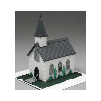Bachmann 45815 Country Church Built-Up N Multi-Colored