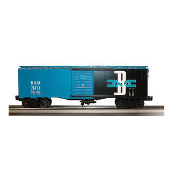Williams by Bachmann O Scale Train 40 Foot Box Car Boston & Maine 47051