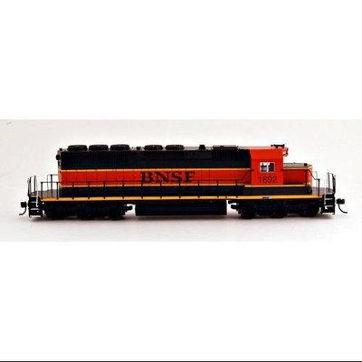 Bachmann HO Scale Train Diesel SD40-2 DCC Equipped BNSF #1692 60911