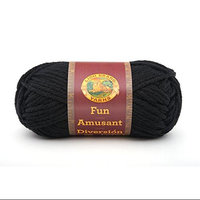 Lion Brand 433793 FUN YarnBlack Pack of 10