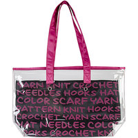Lion Brand 2-In-1 Yarn Tote-Pink