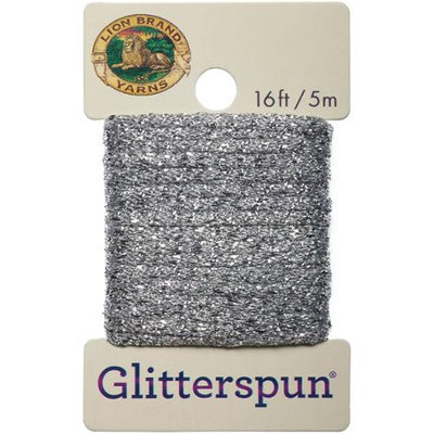 Lion Brand Yarn Company Glitterspun-Silver