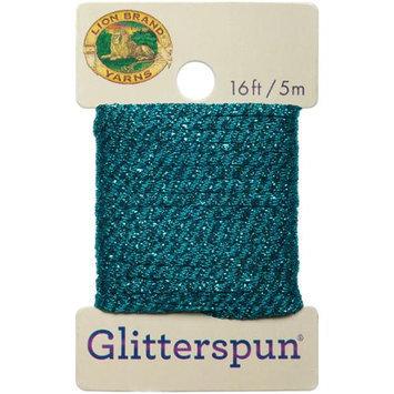 Lion Brand Yarn Company Glitterspun-Turquoise