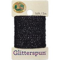 Lion Brand Yarn Company Glitterspun-Onyx