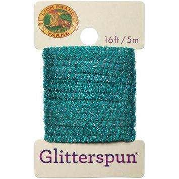 Lion Brand Yarn Company Glitterspun-Blue Topaz