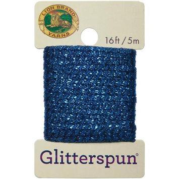 Lion Brand Yarn Company Glitterspun-Sapphire