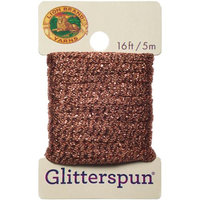 Lion Brand Yarn Company Glitterspun-Copper