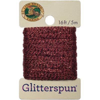 Lion Brand Yarn Company Glitterspun-Ruby