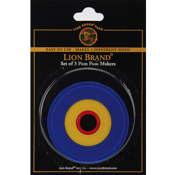 Lion Pom Pom Maker -3/Pkg 1 to 3