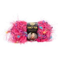 Lion Brand 'Fancy Fur' Pink Party Yarn
